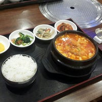 Photo taken at Hyang-to-gol Korean Restaurant by Pamela O. on 6/29/2015