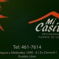 """Photo taken at Restaurante """"Mi Casita"""" by Liy T. on 10/5/2013"""