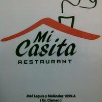 """Photo taken at Restaurante """"Mi Casita"""" by Liy T. on 9/12/2013"""