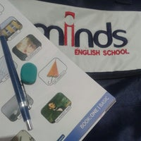 Photo taken at Minds English School by Mara C. on 6/7/2013
