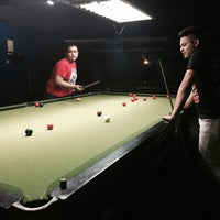 Photo taken at Snooker IM5 by Elmy on 4/3/2016
