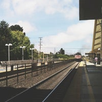 Photo taken at Millbrae Caltrain Station by Brian D. on 6/18/2013