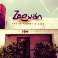 Photo taken at Zaguán Latin Bakery & Cafe by Juan David L. on 7/27/2013