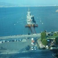Photo taken at Wyndham Grand İzmir Özdilek by Aslihan D. on 8/23/2013