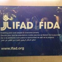 Photo taken at IFAD by Gazzurbo on 2/13/2013