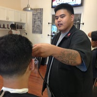 Photo taken at Rosewood Barbershop II by Robert on 7/13/2013