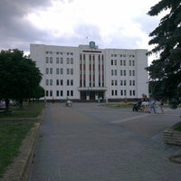 Photo taken at Майдан Свободи by Alexandra P. on 6/11/2013