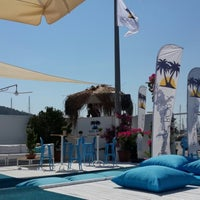 Photo taken at Bora Bora Beach club yalancı boğaz by Özge K. on 7/22/2014
