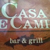Photo taken at Casa de Campo bar & grill by oscar M. on 3/16/2014