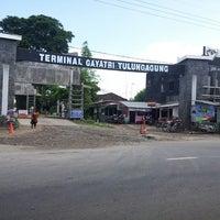 Photo taken at Terminal Gayatri Tulungagung by Lydiaaa H. on 1/27/2014