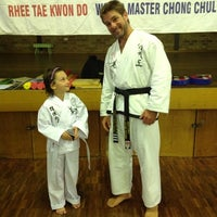 Photo taken at Rhee Tae Kwon Do Thornton by Simmone R. on 11/29/2012