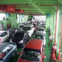 Photo taken at Penang Ferry Terminal (Pangkalan Raja Tun Uda) by Alvin T. on 2/24/2013