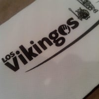 Photo taken at Los Vikingos Restaurant by Daniel Z. on 6/1/2013