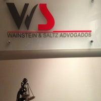Photo taken at Wainstein & Saltz Advogados by Sandro S. on 7/19/2013