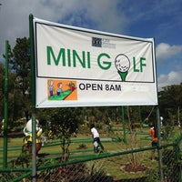 Photo taken at Mini Golf by Christian C. on 5/31/2014