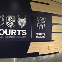 Photo taken at Timberwolves Administrative Offices by Chuck O. on 12/9/2015