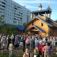 Photo taken at Храм святого Николая Чудотворца by Yulia C. on 7/29/2013