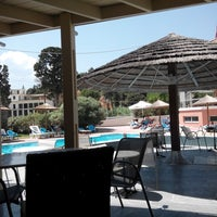 Photo taken at Samian Blue Hotel by Manos I. on 8/6/2014