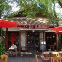 Photo taken at Café Batu Jimbar by Joy I. on 8/20/2013