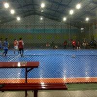 Photo taken at Bagoes Futsal by bazkoro m. on 10/30/2012