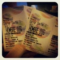 Photo taken at Cinemex Platino by Luis V. on 6/22/2013