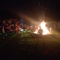 Photo taken at Scouts Sint-Bernadette by Steven N. on 9/21/2013