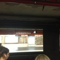 Photo taken at Metro Anagnina (MA) by Den L. on 7/15/2013