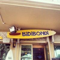 Photo taken at Bidi Bondi by Stephen L. on 4/12/2013