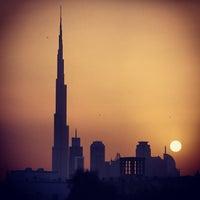 Photo taken at Burj Khalifa by Stephen L. on 4/12/2013