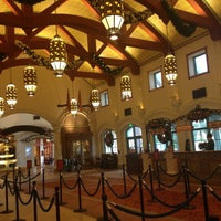 Photo taken at Disney's Coronado Springs Resort by Rosie C. on 12/12/2012
