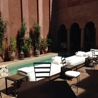Photo taken at Riad Noir d'Ivoire by Mike B. on 3/29/2015