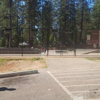 Photo taken at Grass Valley Skate Park by Pichino C. on 9/15/2013