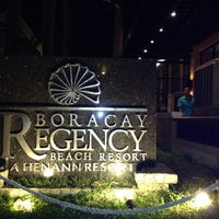 Photo taken at Boracay Regency Buffet by Alma A. on 5/15/2014