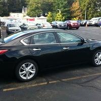 Photo taken at Marlboro Nissan by Bob M. on 9/29/2012