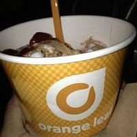 Photo taken at Orange Leaf Frozen Yogurt by Ryan T. on 3/3/2013