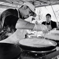 Photo taken at Crepes at the Market by Ryan M. on 3/8/2014