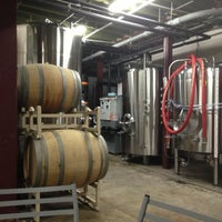 Photo taken at Upright Brewing by Kyle P. on 12/2/2012