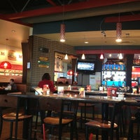 Photo taken at Red Robin Gourmet Burgers by Ben A. on 3/17/2013