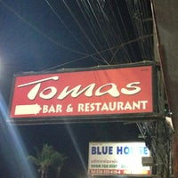 Photo taken at Tomas bar & restaurant by Yanni on 7/6/2013