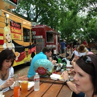Photo taken at Fort Worth Food Park by Brent N. on 5/25/2013