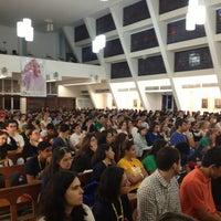 Photo taken at Paróquia Santa Mônica by Victor B. on 7/20/2013
