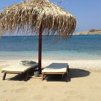 Photo taken at Porto Koundouros Beach by Minas L. on 7/7/2013