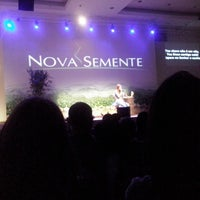 Photo taken at Igreja Adventista do Sétimo Dia - Nova Semente by Lissandra C. on 6/8/2013