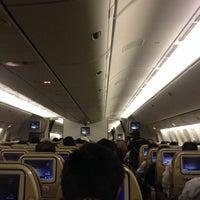Photo taken at Lufthansa Flight LH 627 by DENN!S on 3/7/2014