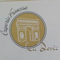Photo taken at Creperia Francesa La Dorée by Viviane C. on 8/18/2014