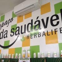 Photo taken at EVS - Espaço Vida Saudável Herbalife by Rafaela L. on 3/24/2014