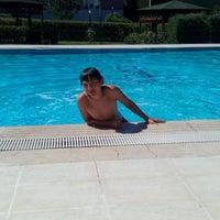Photo taken at Ogretmenler site Havuz by M. H. on 7/29/2014