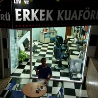 Photo taken at Levent kuaför by Erkan T. on 6/23/2014