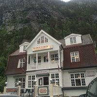 Photo taken at Fjellro Turisthotell by Esten H. on 7/7/2016