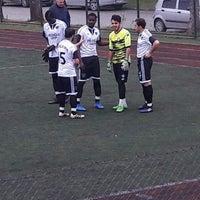 Photo taken at Hendek Atatürk Stadyumu by Enes İ. on 2/4/2018